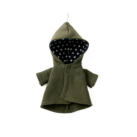 Elf Jacket in Forest Green for Dolls