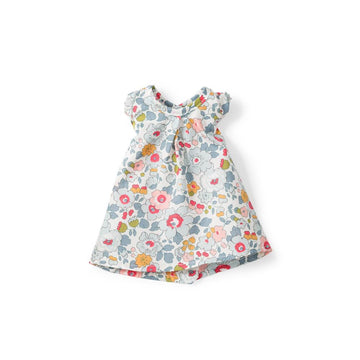 Tea Party Dress for Dolls in Sweet Rose