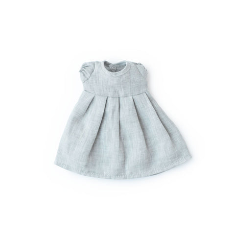 Fog Linen Dress for Dolls