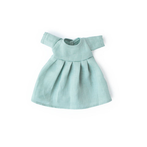 Egg Blue Dress for Dolls