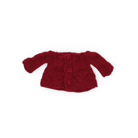 Cranberry Sweater for Dolls