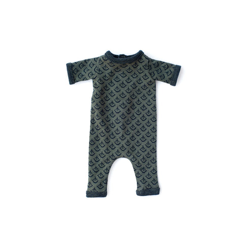 Leaf Cover Romper for Dolls