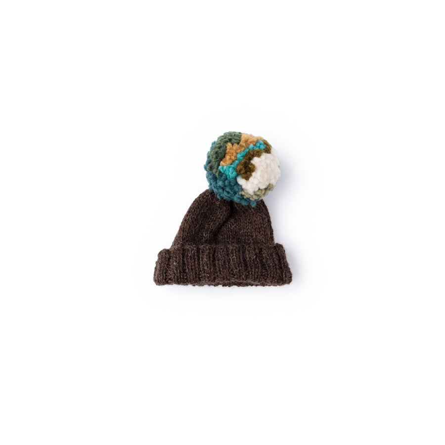 Undergrowth Pom Pom Hat for Dolls