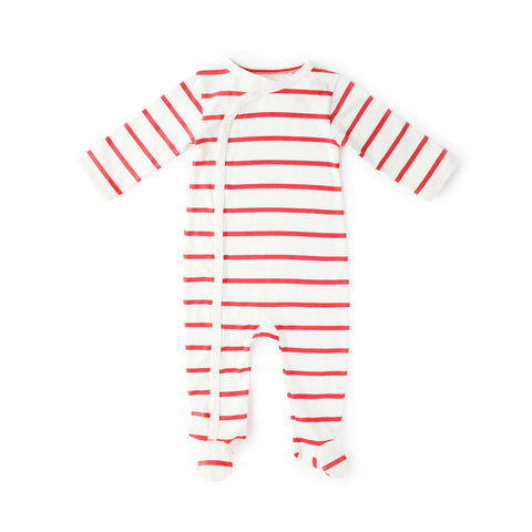Cozy Lodge Footie Romper