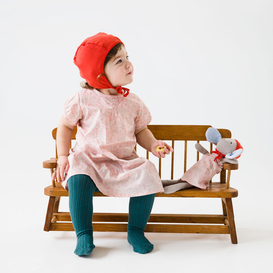 Strawberry Red Bonnet for Kids