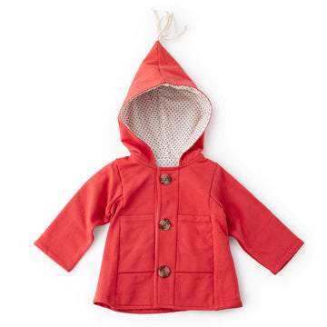 Cranberry Red Elf Jacket for Kids