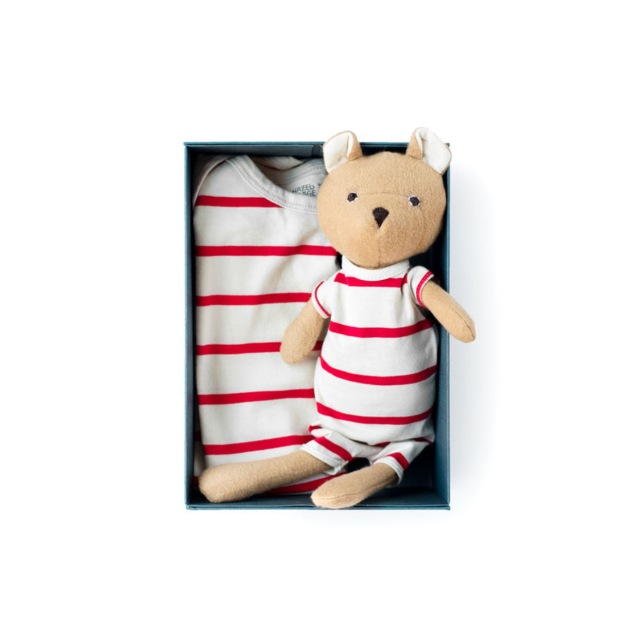 Cozy Lodge Romper Set - Nicholas Bear Cub
