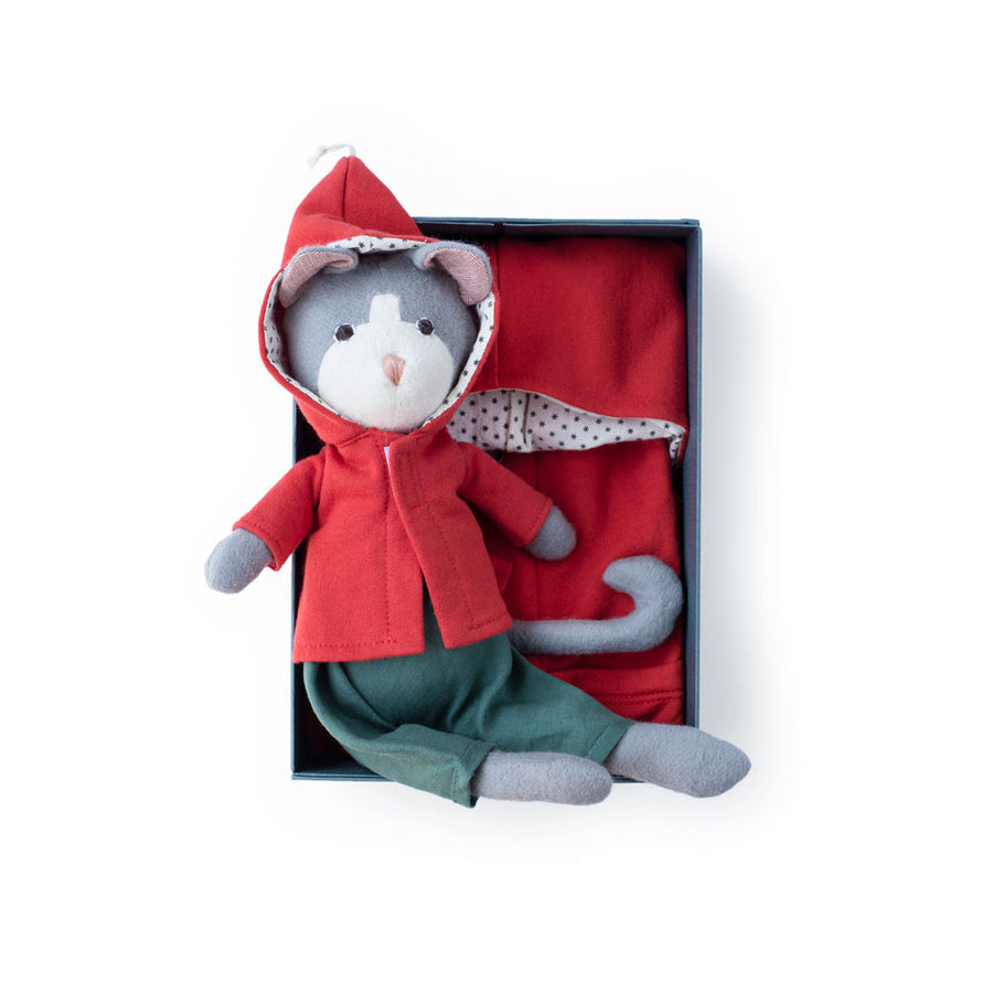 Elf Jacket Set - Gracie Cat