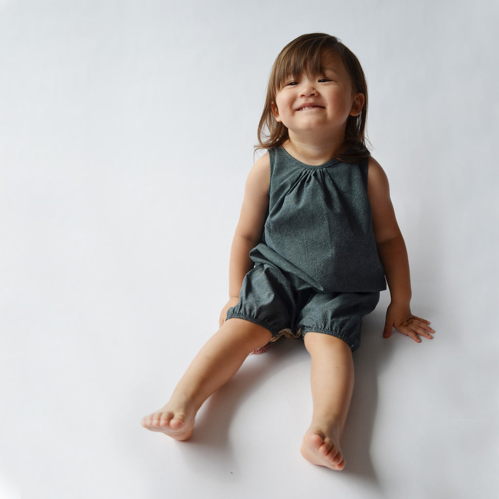 Indigo Sunsuit for Kids