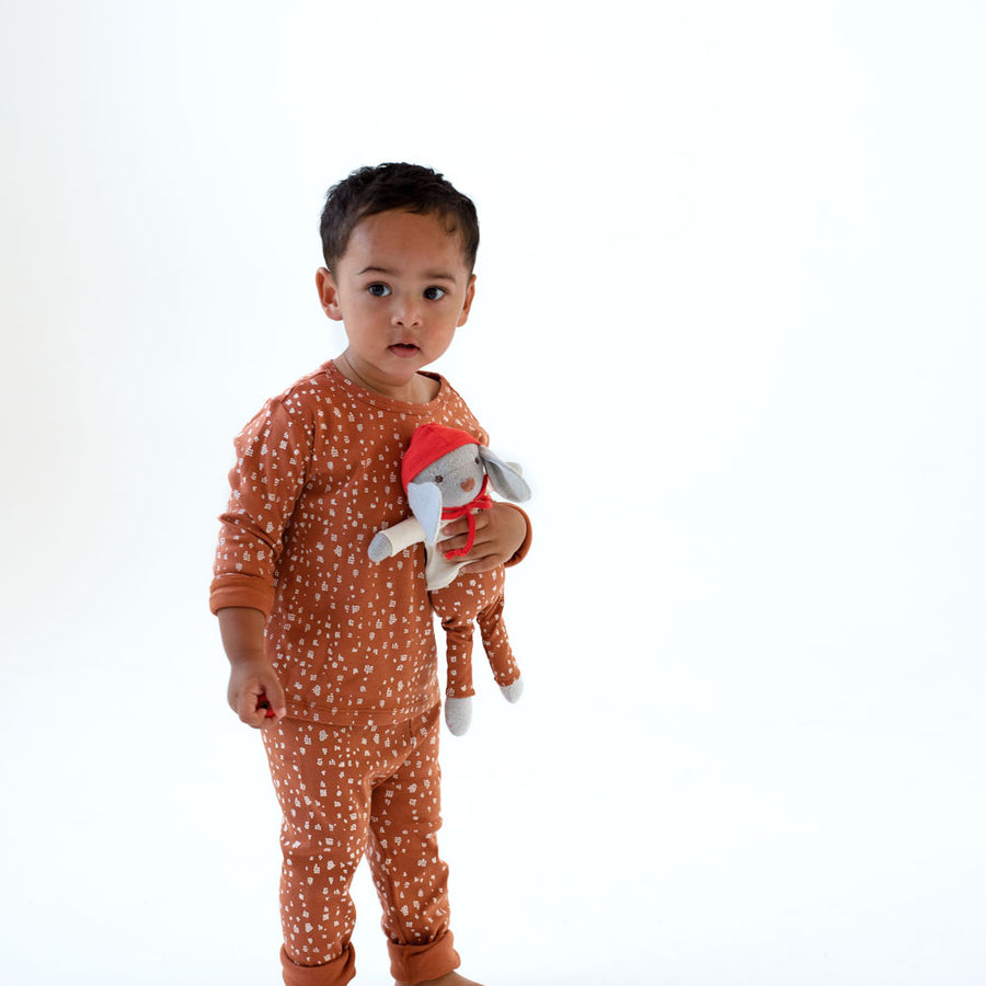 Fawn Spots Shirt and Leggings for Kids