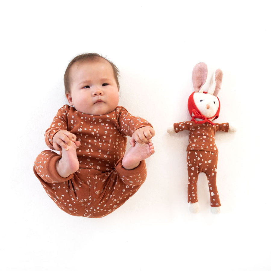 Fawn Spots Shirt and Leggings for Kids and Dolls