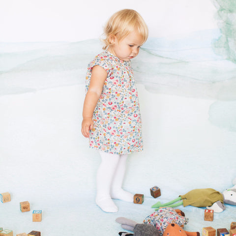 Sweet Rose Dress for Kids
