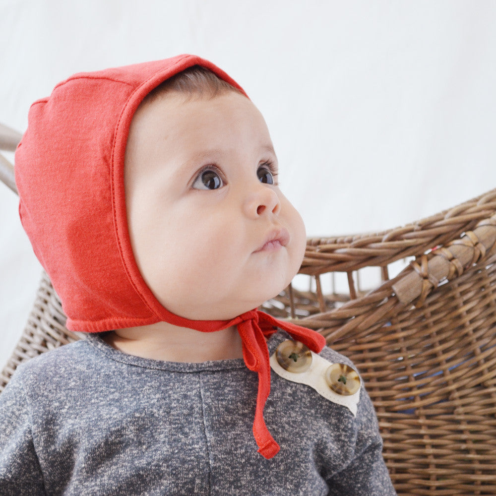 Red Bonnet for Kids