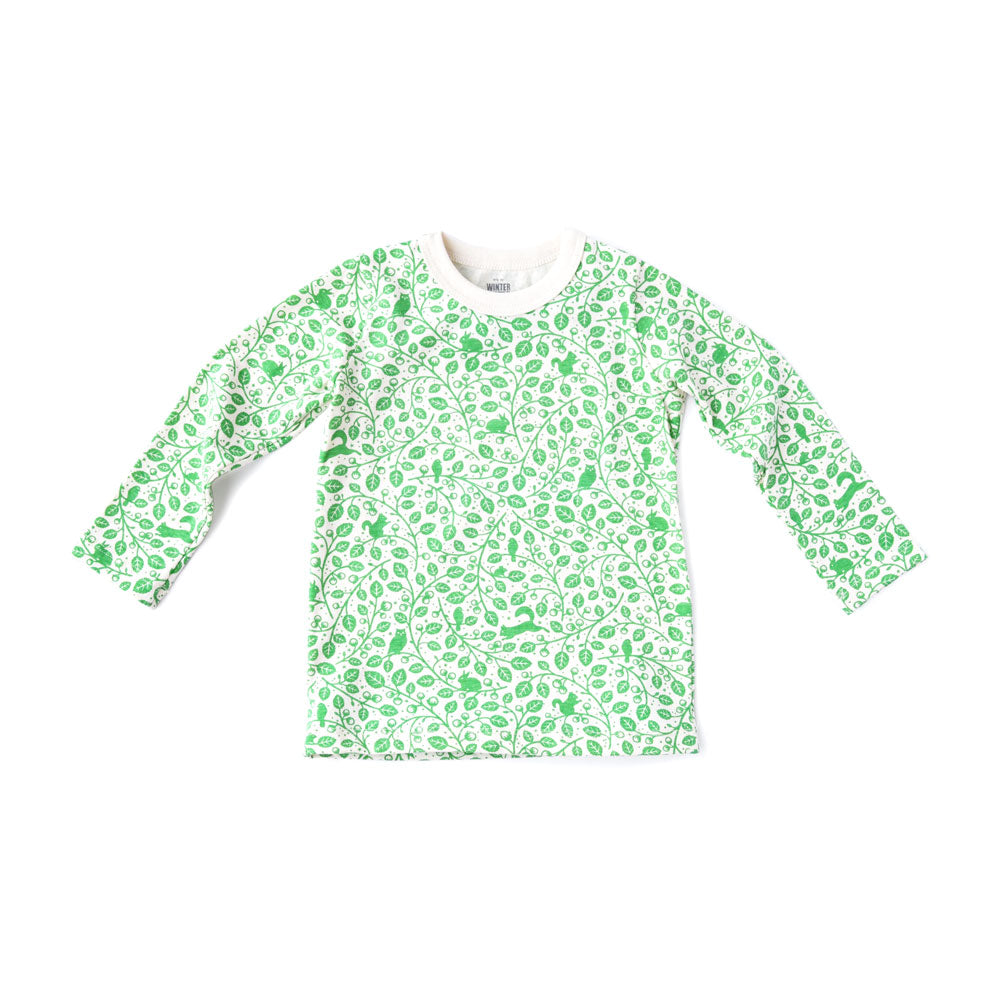 Hazel Forest Kids' Long Sleeve Shirt