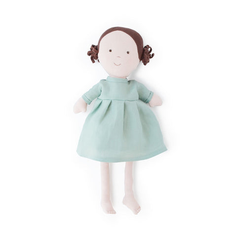 Hazel Village Handmade Organic Cotton Stuffed Doll Louise