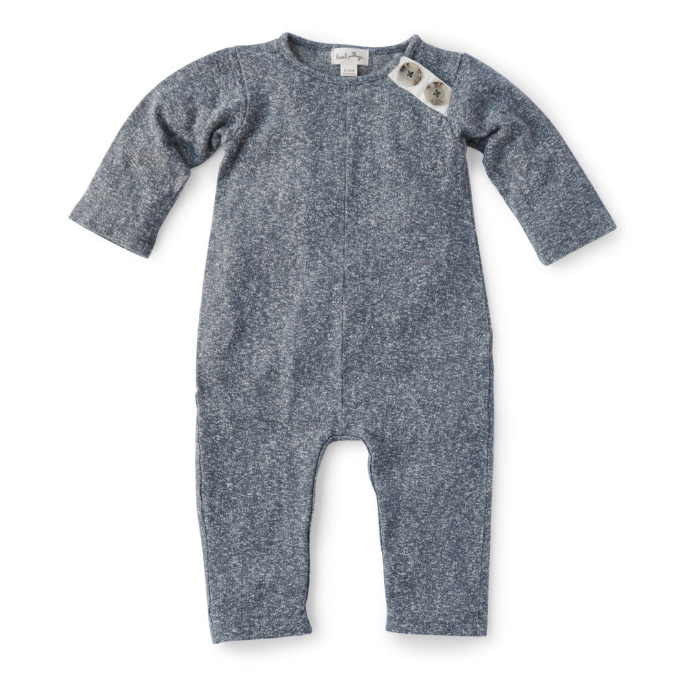 Hazel Village Stormy Gray Romper for Babies