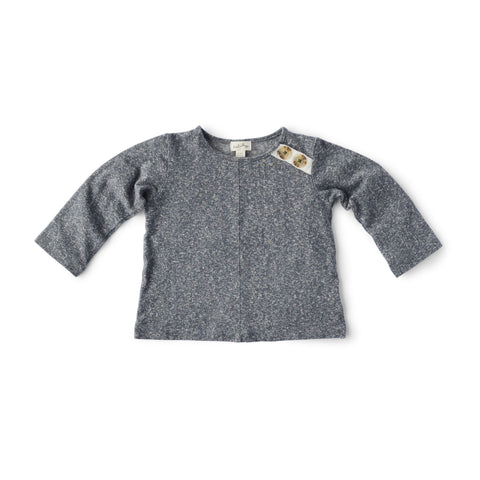 Hazel Village Childrens Clothes Stormy Gray Shirt for Kids