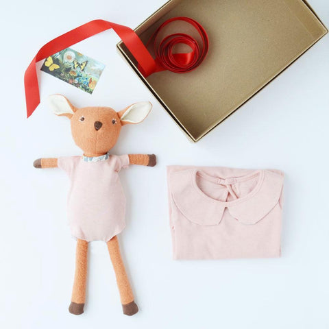 Thistle Pink Onesie Bundle