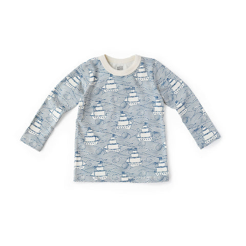 Hazel Village Childrens Clothes High Seas Long Sleeve Shirt for Kids