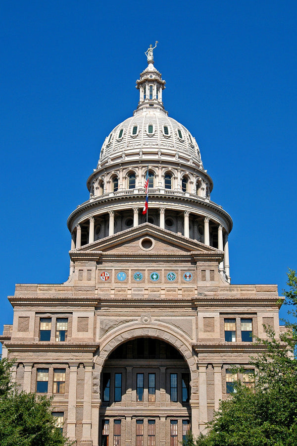 """Capitol of Texas"" ~ Capitol building of Texas in Austin."
