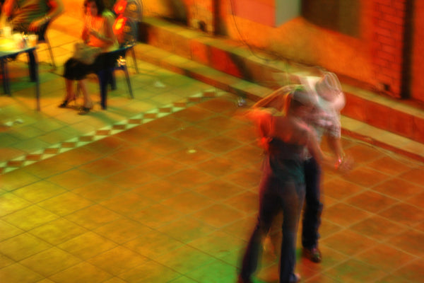 """Corona Club"" ~ A couple on the dance floor of the Corona Club in Ciudad Acuña, Mexico."