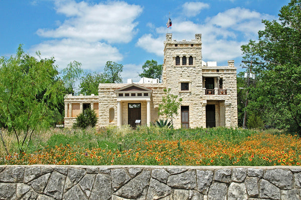 """Elisabet Ney Museum"" ~ The Elisabet Ney Museum in Austin, TX. Photo by Ann Woodall"