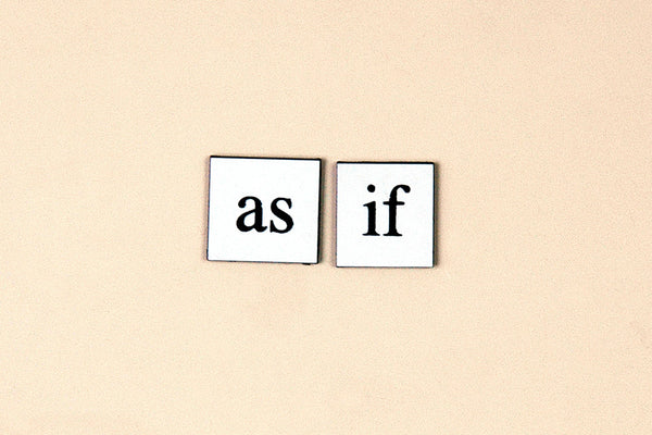 """As If"" ~ Magnets off of my fridge. Photo by Ann Woodall"