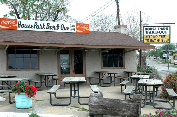 """House Park BBQ"" ~ Local Austin BBQ spot. Photo by Ann Woodall"