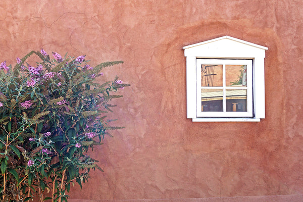 Pink Adobe with Window