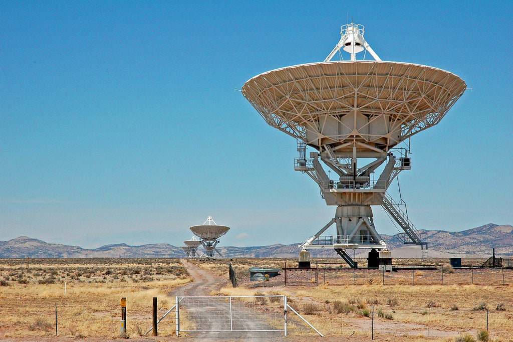 """VLA, New Mexico"" ~ The Very Large Array in New Mexico. Photo by Ann Woodall"