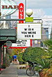 """Wish You Were Here"" ~ Heading up South Congress Ave in Austin, TX. Photo by Ann Woodall"
