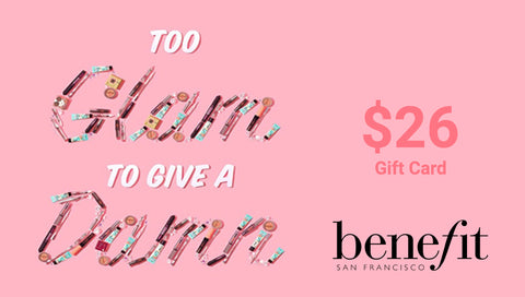 benefit gift card
