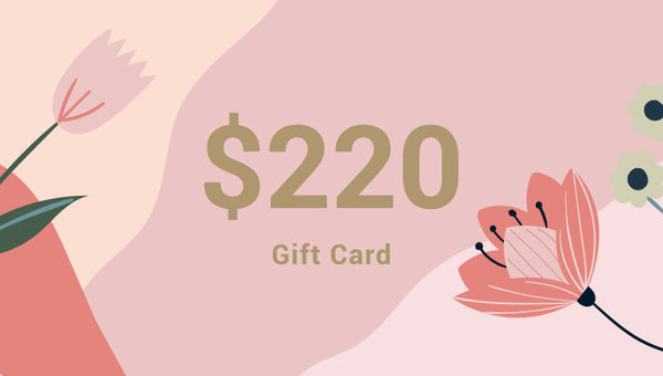 Give a gift card for