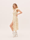 Clothing The Claudette Dress - Yellow Rose Vanessa Mooney