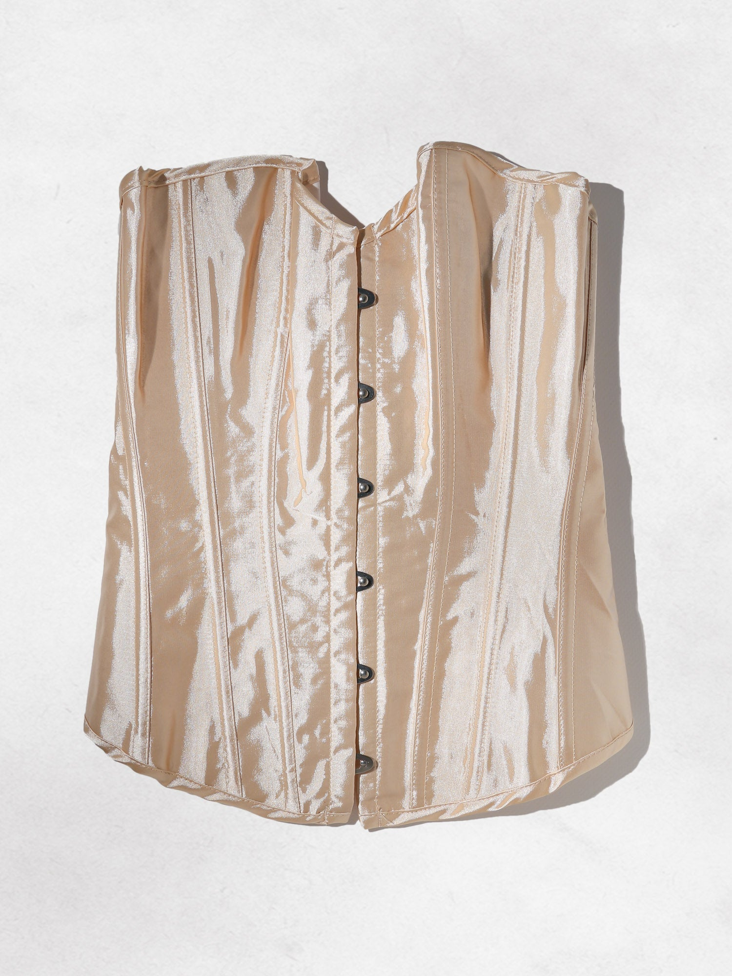 Clothing The Binxie Corset Top - Cream Vanessa Mooney