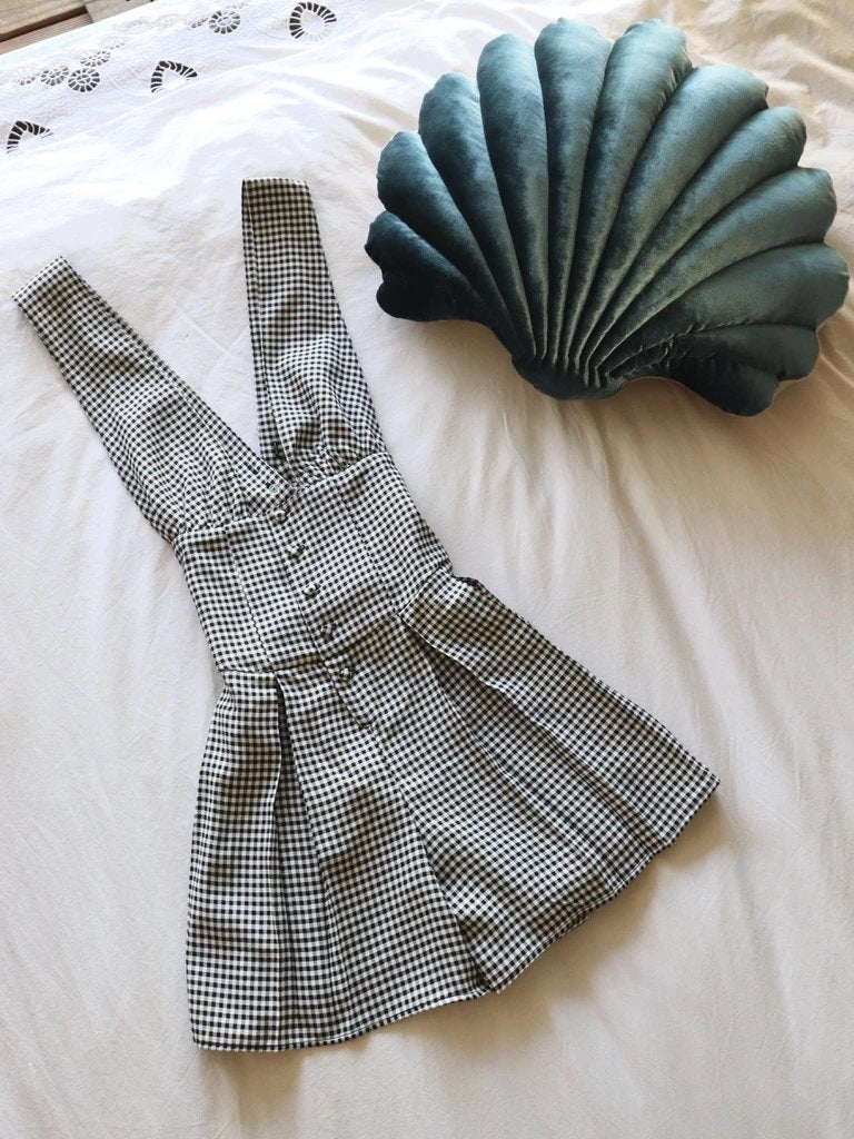 Clothing The Venus Romper – Gingham Vanessa Mooney