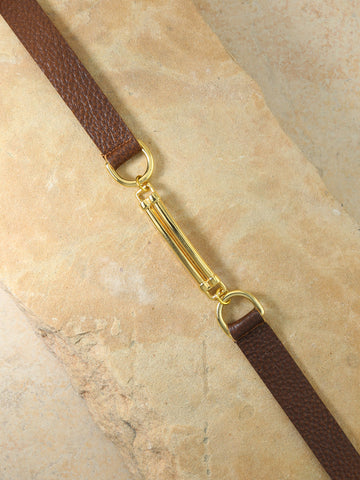 The Apollo Leather Belt Brown