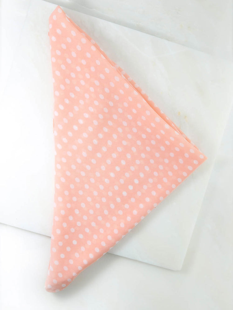 The Pink Polka Dot Rush Bandana