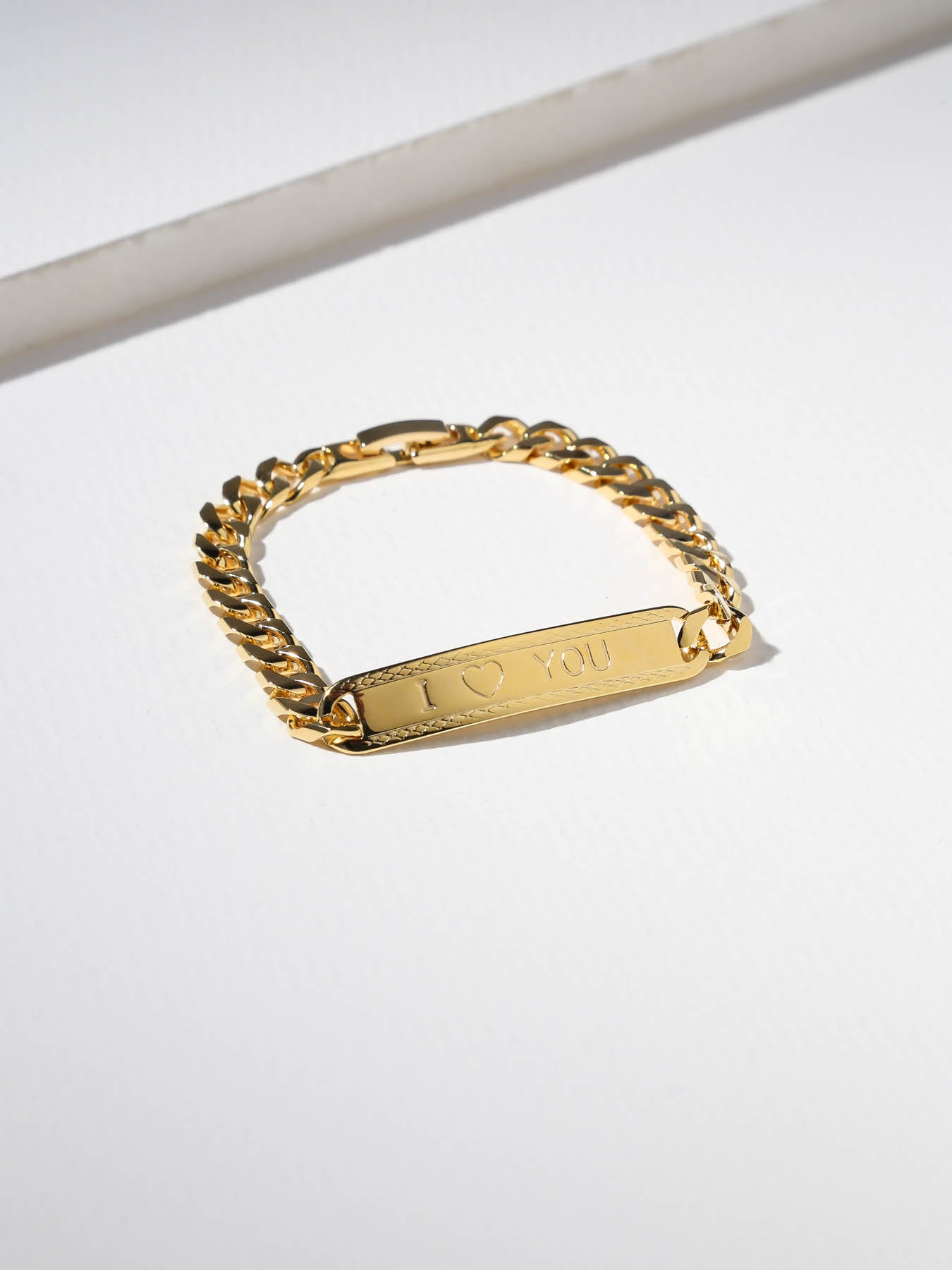 The I Heart You ID Bracelet