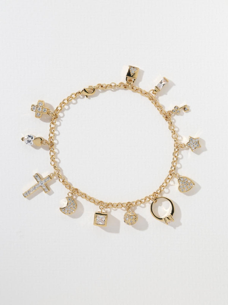 Bracelets The Marilyn Charm Bracelet Vanessa Mooney