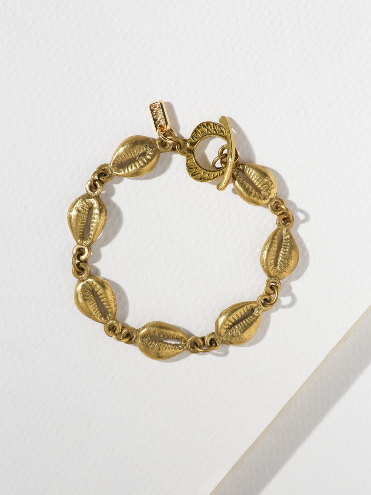 The Laguna Bracelet Brass