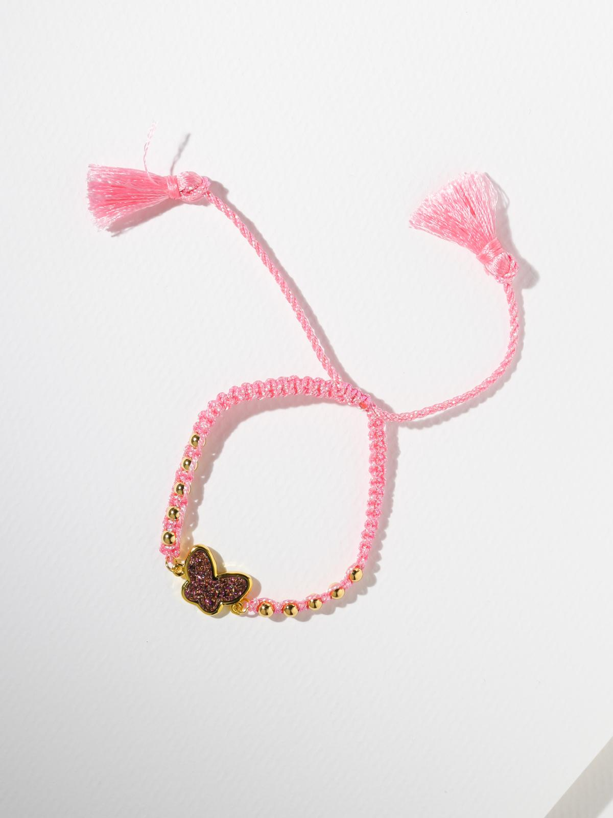 The Dolly Bracelet Pink & Gold