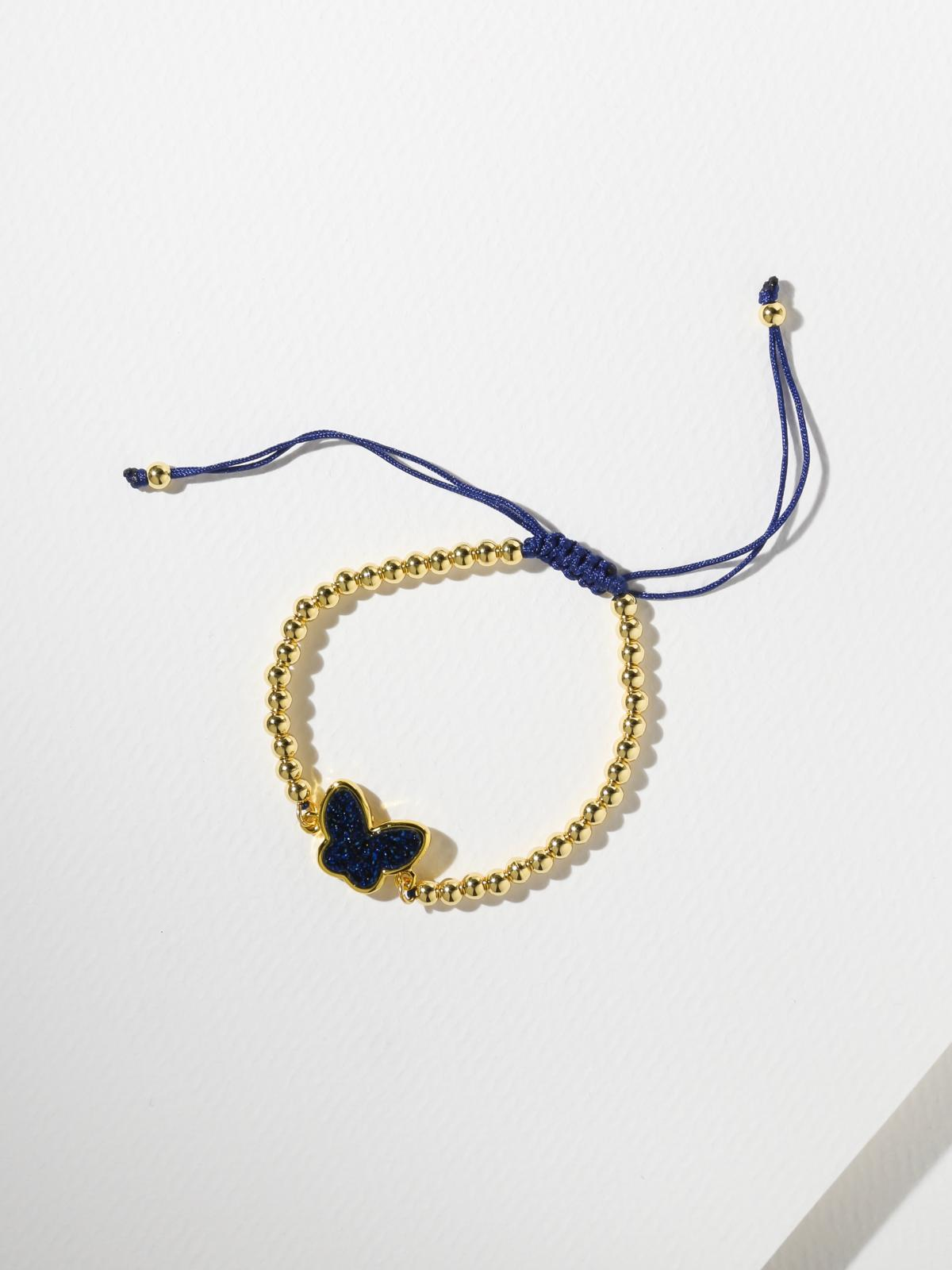 The Mariah Bracelet – Navy