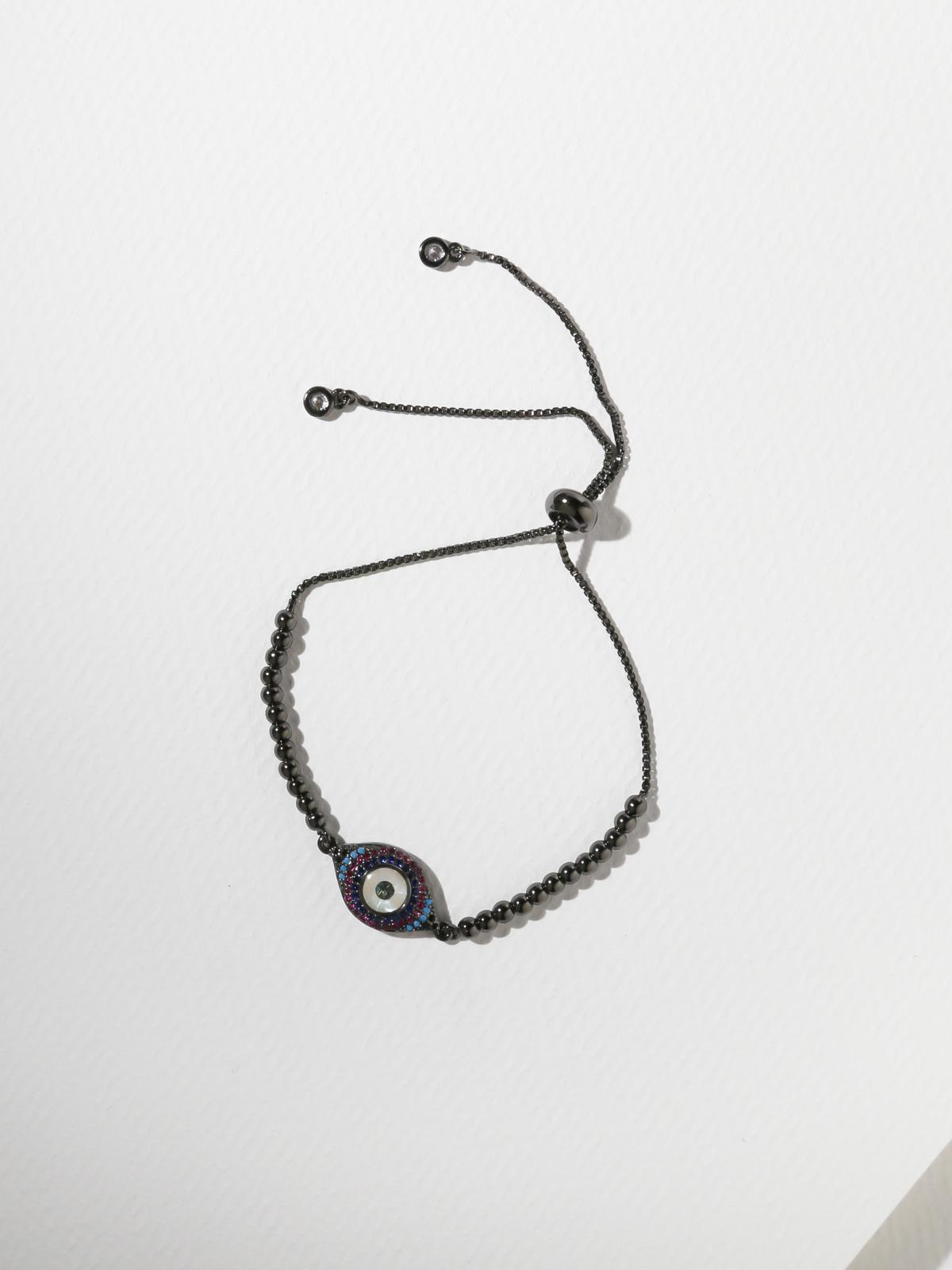 The Eden Bracelet Gunmetal