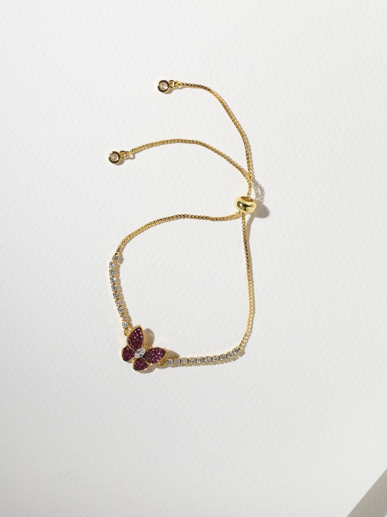 The Monarch Bracelet - Red