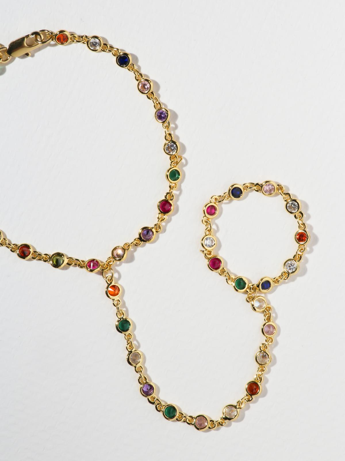 The Bejeweled Hand Chain
