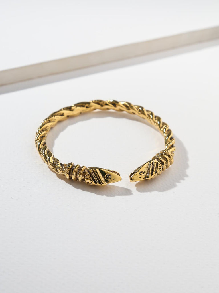 The Serpentine Snake Cuff