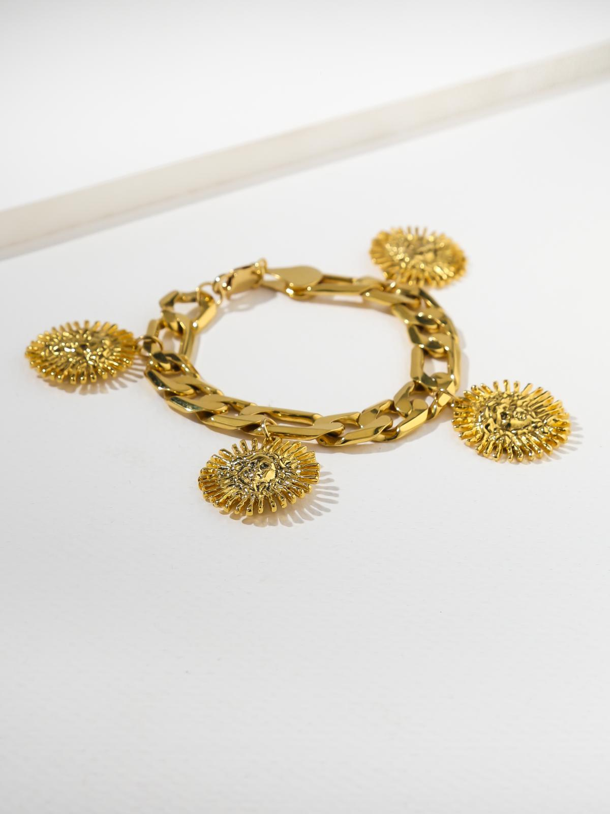 Sale Items The Harlow Medusa Bracelet Vanessa Mooney