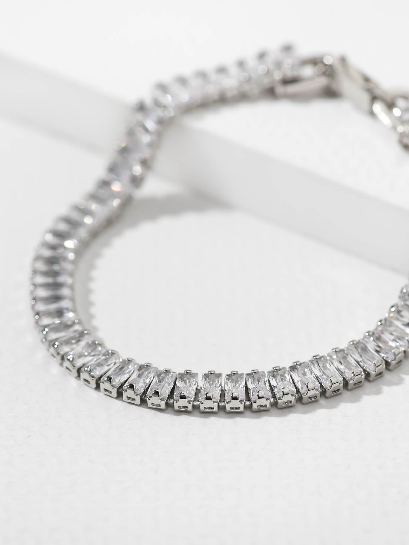 Sale Items SAMPLE: The Cindy Bracelet - Silver Vanessa Mooney