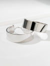 The Kings Double Cuff Bracelet - Silver